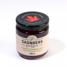 Saunders Family Farm Cranberry Jalapeño Jelly