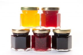 Saunders Family Farm Peach Jam Sampler