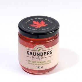 Saunders Family Farm Rhubarb Jalapeño Jelly